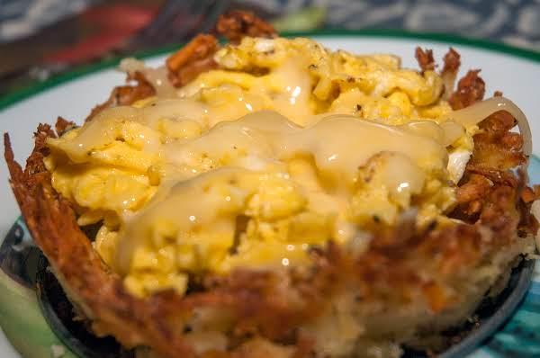 Creative Essentials: Cheesy Hash Brown Bowls Recipe