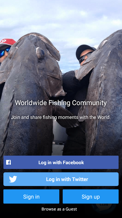 Worldwide Fishing Club- screenshot