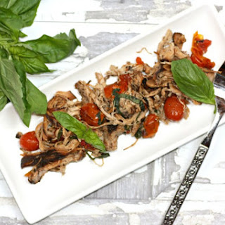 Slow Cooker Tomato Basil Chicken