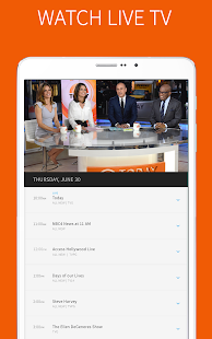 The NBC App - Watch Live TV and Full Episodes- screenshot thumbnail