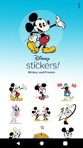 Disney Stickers: Mickey & Friends 6