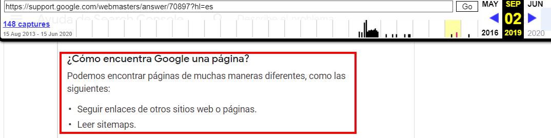 Google dejaría de seguir los enlaces para encontrar nuevas URLs 1