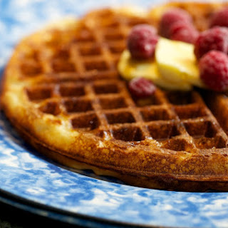 Wild Sourdough Yeasted Waffles