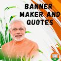 Banner Maker & Modi Quotes [HD] Photo Frames icon