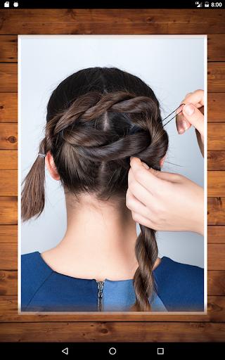 Easy Hairstyles step by step DIY 1.5 screenshots 10