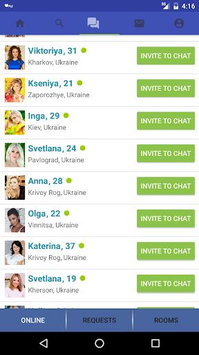 MeetBrides: dating and chat Appar (APK) gratis nedladdning för Android/PC/Windows screenshot