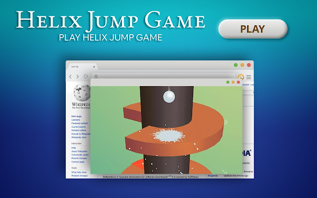 Helix Jump Game