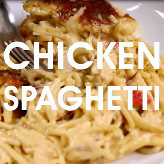 Cheap And Easy Chicken Spaghetti.