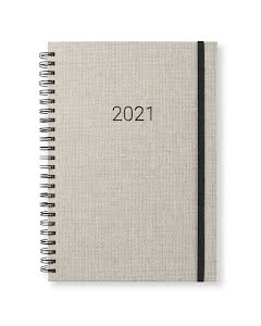 Kalender 2021 Newport vecka/notes Sandy Linen