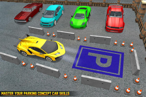 Download Us Futuristic Car Parking Free Parking Games On Pc Mac