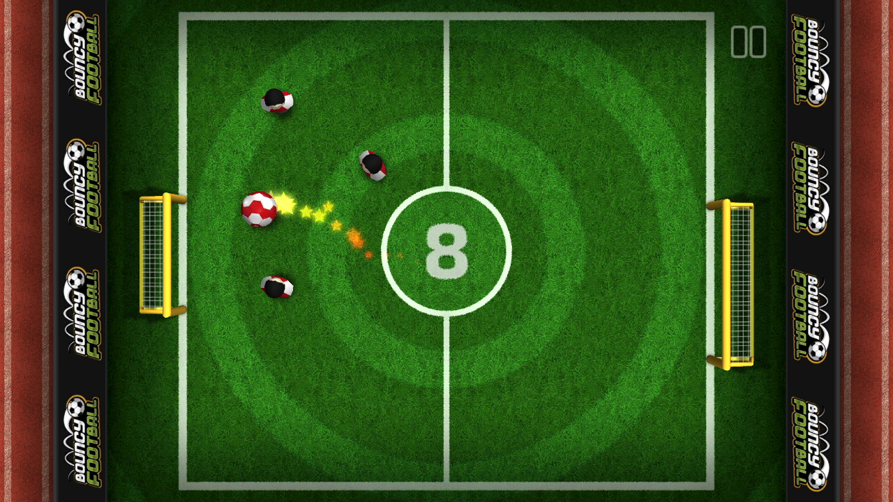 Bouncy Football- screenshot