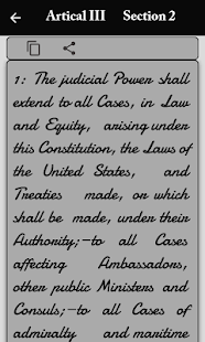 us constitution and amendments for PC-Windows 7,8,10 and Mac apk screenshot 8
