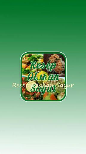 Resep Olahan Sayur