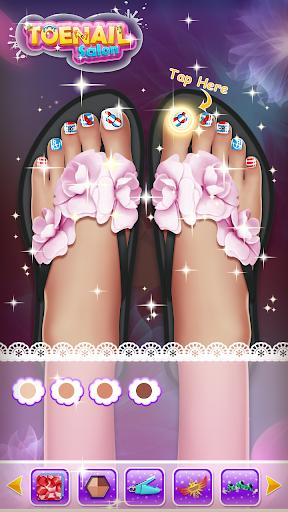 ud83dudc85Princess Nail Makeup Salon2 - Beautiful Toenail 2.5.5009 screenshots 7