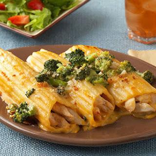 Chicken Broccoli Manicotti Recipes
