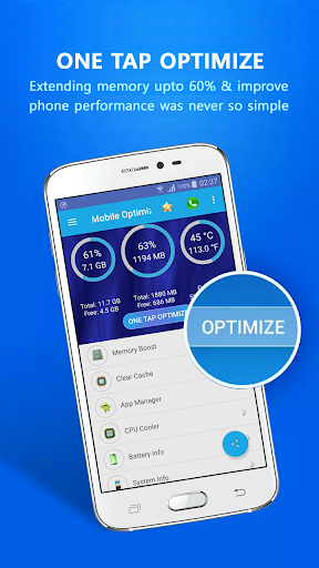 Mobile Optimizer Pro v1.0.4 (Paid)