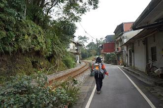 Photo: 時間不晚了,我們趕緊朝登山口走去