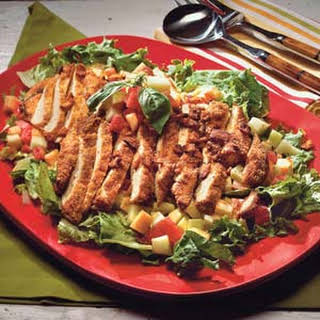 Hoover's Picnic Salad With Honey-Mustard Dressing.