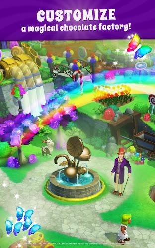 Wonka's World of Candy – Match 3 Android App Screenshot