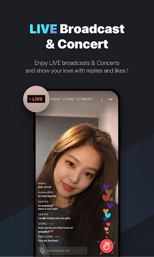 Screenshot for V LIVE in Hong Kong Play Store