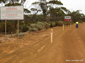 Photo: It is road-train country out of Norseman on the Norseman-Hyden Road