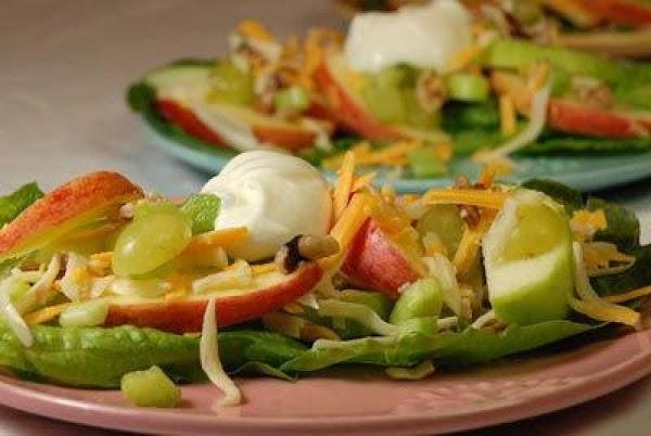 Cheese Apple Salad Recipe