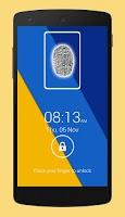 Screenshot of Fingerprint Screen Lock- Prank