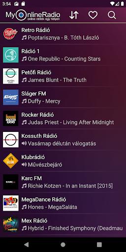 My Online Rádió - Magyar - Online Rádiók 1 helyen 2.5.5 screenshots 1