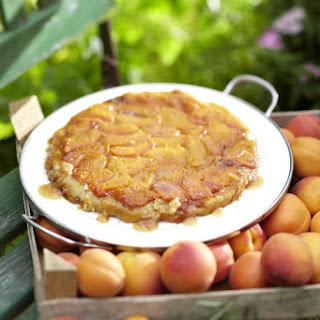 Apricot Tarte Tatin with Sour Cream