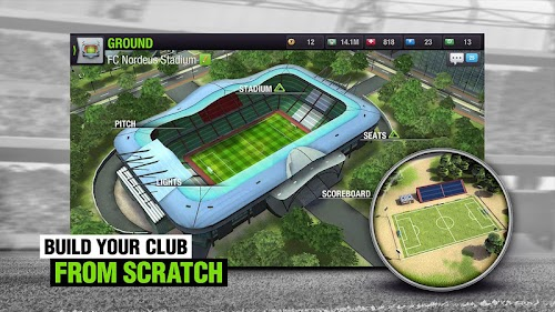Screenshot 1 Top Eleven 2018 -  Be a Soccer Manager 7.10.2 APK MOD