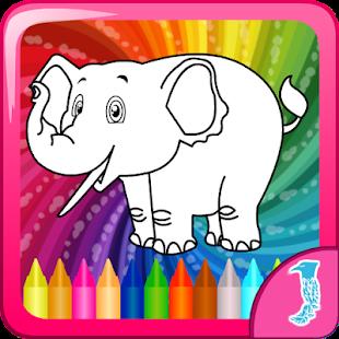 Kindergarten Coloring Games