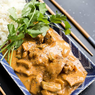 Instant Pot Butter Chicken.