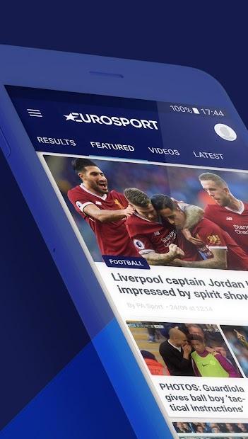 Eurosport Android App Screenshot