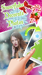 Snowflake ❄️ Decorate Photos - náhled