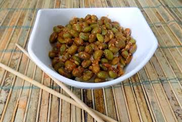 Spicy Edamame Appetizer