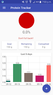 Protein Tracker No Ads - náhled