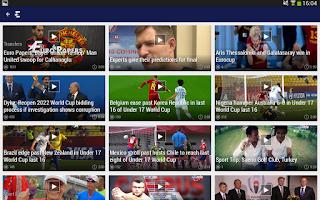 Screenshot of Eurosport