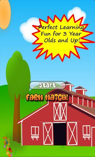 Toddler Tricky Farm Match Free
