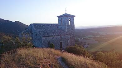 Photo: Kerk bij Soyans