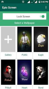App EpicScreen - Epic LockScreen App APK for Windows Phone
