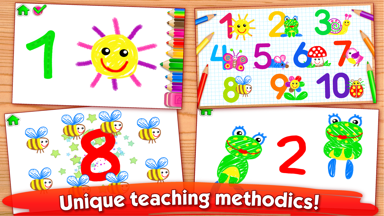 123 draw toddler counting for kids drawing games android apps