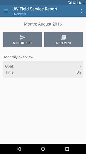 Download JW Field Service Report Google Play softwares