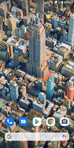 Metropolis 3D City Live Wallpaper [FREE] 🏙️ screenshot 2