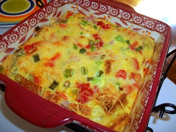 Turn oven to broil and bake an additional few minuted or until golden.