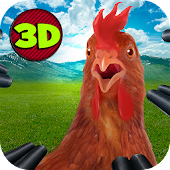 Mad Crazy Chicken Simulator