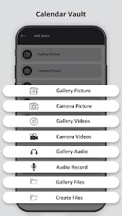 Calendar Vault – Photo Video Audio Locker Apk Download for Android 2