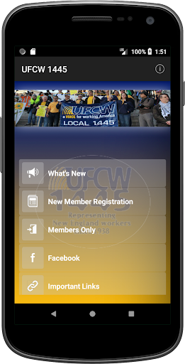 Screenshot for UFCW 1445 in United States Play Store