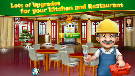 Cooking Fever Mod Apk 10.0.0 (Unlimited Coins + Gems) 5