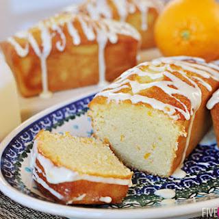 Orange Pound Cake Mini Loaves