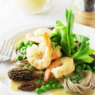 Buckwheat Noodle Salad with Shrimp